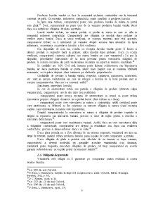 Efectele Contractului de Vanzare-Cumparare - Pagina 5
