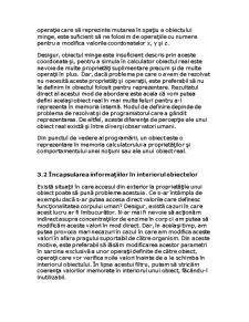 Reprezentarea Informațiilor cu Obiecte - Pagina 3