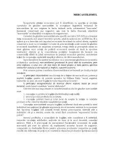 Mercantilismul - Pagina 1