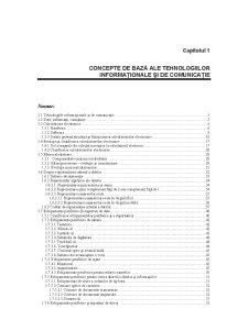 Concepte de Baza ale Tehnologiilor Informationale si de Comunicatie - Pagina 1