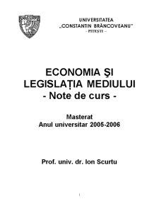 Suport de Curs - Ecologie - Pagina 1