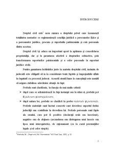 Proba prin Declaratia Partilor - Interogatoriul-Marturisirea - Pagina 2