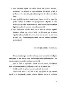 Proba prin Declaratia Partilor - Interogatoriul-Marturisirea - Pagina 3
