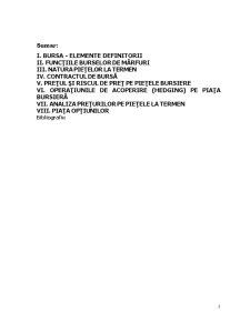 Burse Internaționale de Mărfuri - Pagina 2