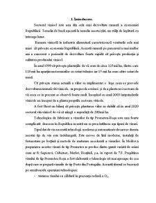 Fabricarea Vinurilor de Tip Prometeu-Roșu - Pagina 1