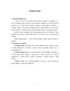 Bursa de Valori Mobiliare - Pagina 1