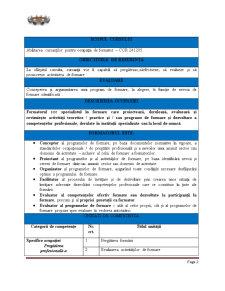 Curs de Formare Profesională - Pagina 2