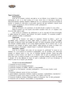 Curs de Formare Profesională - Pagina 5