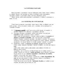 Conturi Bancare - Pagina 1