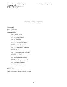 Curs de Limba Engleza - Pagina 2