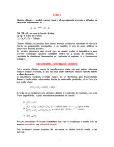 Mecanismul Reactiilor Chimice - Pagina 1