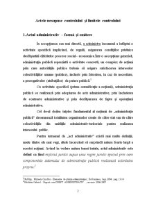 Actele Nesupuse Controlului și Limitele Controlului - Pagina 2
