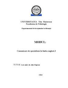 Engleza Facultate - Pagina 1