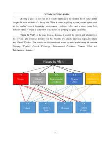 Using an AHP Matrix to Take a Decision Regarding Places to Visit - Pagina 4