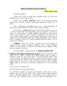 Drept International Privat - Pagina 1