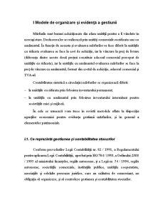 Modele de Organizare și Evidență a Gestiunii - Pagina 1