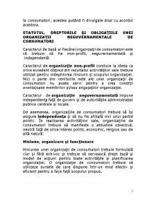 Oraganizatiile Neguvernamentale ale Consumatorilor - Pagina 5