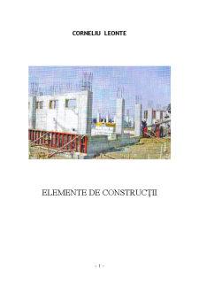 Elemente de Construcție - Pagina 1