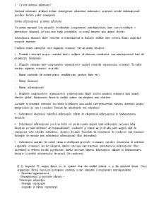 Sistemul Informatic - Pagina 1