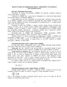 Traductoare de Mărimi Electrice - Dispozitive de Măsurat Electromecanice - Pagina 1