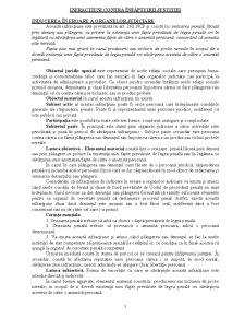 Infracțiuni Contra Înfăptuirii Justiției - Pagina 1