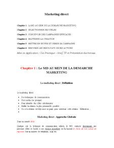 Marketing Direct - Pagina 1