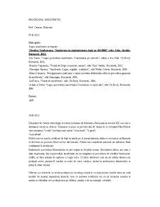 Procedura Insolventei - Pagina 1