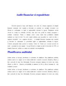 Audit Financiar și Regularitate - Pagina 1