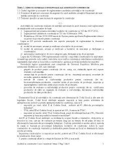 Auditul in Constructii - Pagina 1