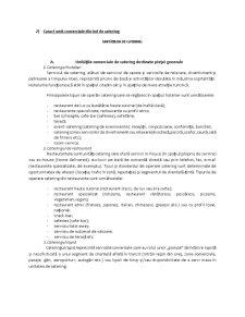 Structura Industriei de Catering - Pagina 3