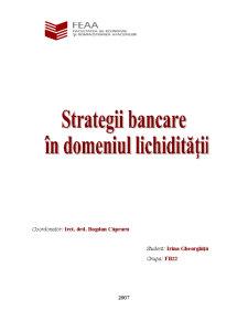 Strategii de Lichiditate Bancara - Pagina 2