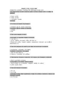 Grile Licenta Drept Civil - Pagina 1