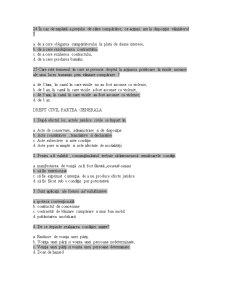 Grile Licenta Drept Civil - Pagina 5