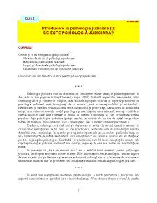Psihologia Judiciară - Pagina 1