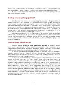 Psihologia Judiciară - Pagina 2