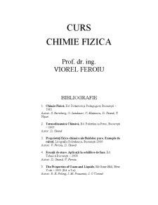 Chimie-Fizica - Pagina 1