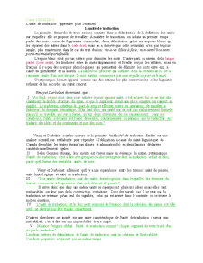 Traductologie - Pagina 1
