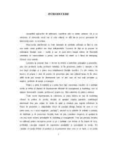Introducere în Mass Media - Pagina 1