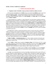 Istoria Statului si Dreptului Romanesc - Pagina 1