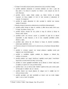 Managementul Portofoliului - Pagina 4