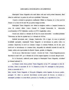 Turnu Magurele - Oras Dunarean - Pagina 1