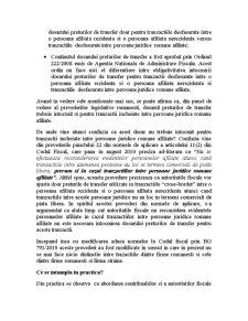 Dosarul Preturilor de Transfer - Intrebari si Raspunsuri Practice - Pagina 2