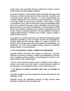 Dosarul Preturilor de Transfer - Intrebari si Raspunsuri Practice - Pagina 5
