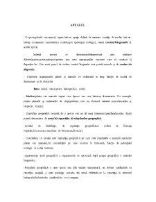 Arealul - Pagina 1