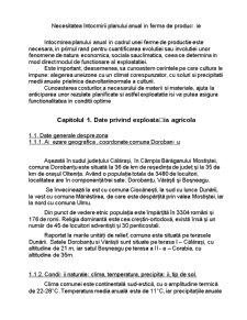 Intocmirea Planului Anual de Productie in Cadrul Exploatatiei Agricole - Pagina 3