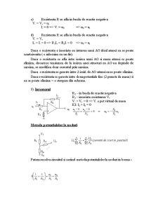 Electronica Digitala cu Amplificatoare Operationale - Pagina 2