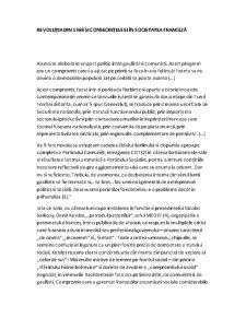Revoluția din 1968 și Consecințele Ei în Societatea Franceză - Pagina 1