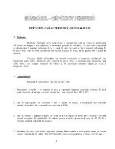 Monitorul - Dispozitiv Periferic - Pagina 1