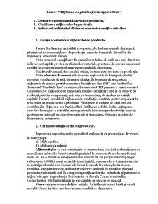 Economia Agrară - Pagina 1