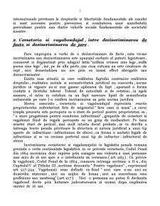 Constitutionalitatea Dispozitiilor din Codul Penal cu Privire la Infractiunile de Prostitutie, Cersetorie si Vagabondaj - Pagina 3